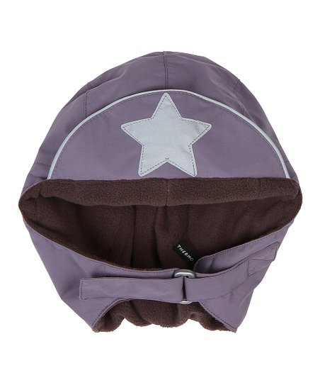 Purple Heart Willo Wool Hood