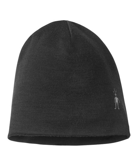 Black NTS Wool Beanie - Kids