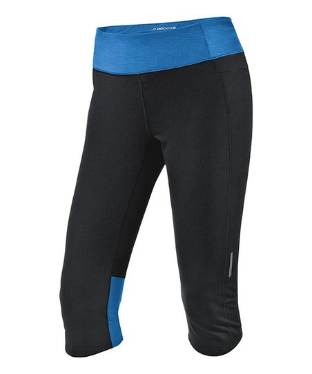 Black & Heather Neptune Essential Capri - Women