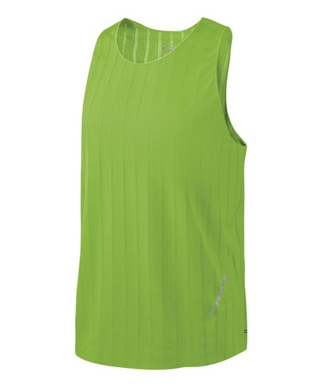 Brite Green Race Day Singlet - Men