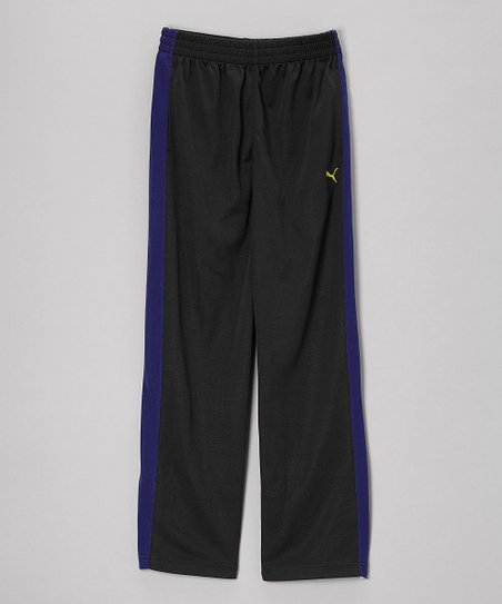 Black Track Pants - Toddler & Boys