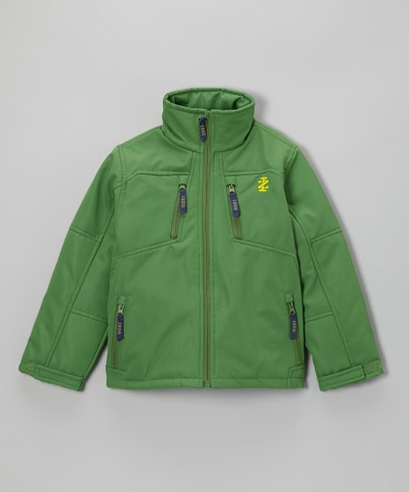 Mint Green Soft-Shell Jacket - Toddler & Boys