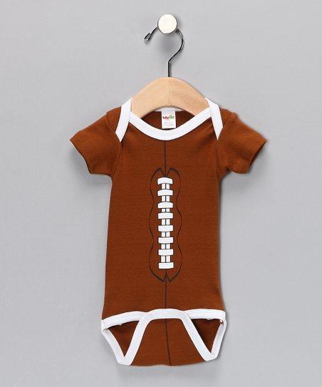 Brown Football Bodysuit