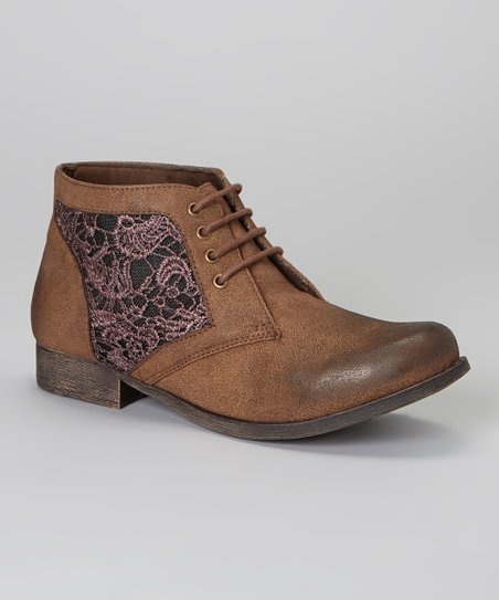 Brown Prima Ankle Boot