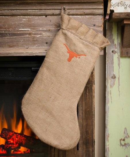 Texas Burlap Stocking