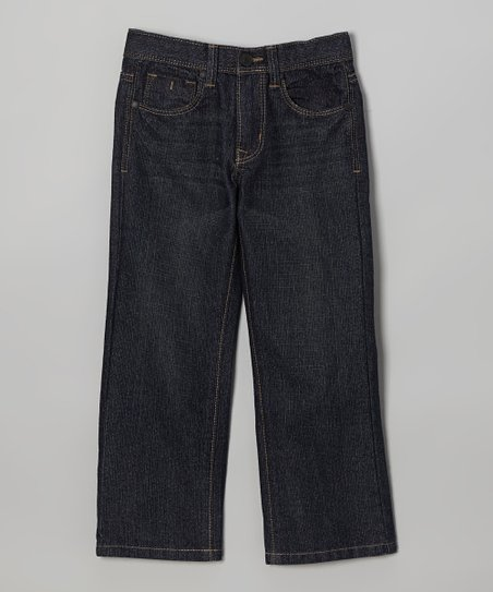 Burnished Rebel Slim Straight-Leg Jeans - Boys