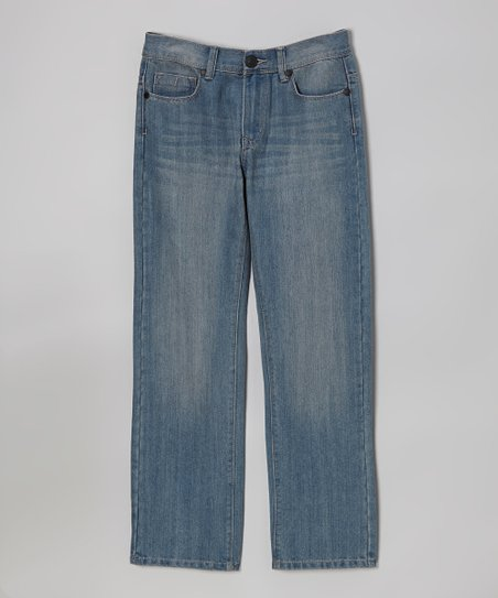 Cloud Rebel Slim Straight-Leg Jeans - Boys