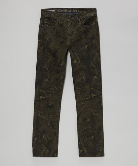 Shard Camo Rocker Skinny Jeans - Boys
