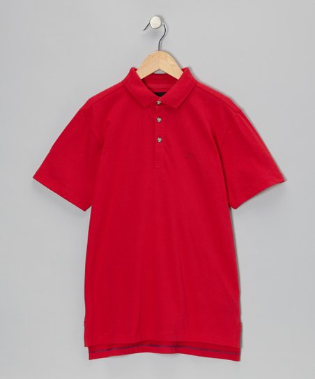 Rosy Red Polo - Infant, Toddler & Boys