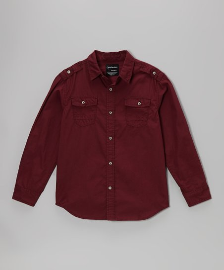 Windsor Woven Button-Up - Boys