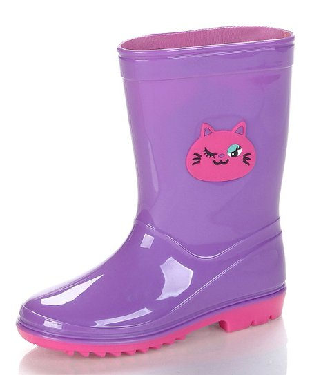 Purple & Pink Kit Rain Boot