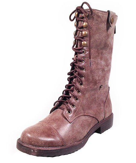 Brown Vodoo Boot