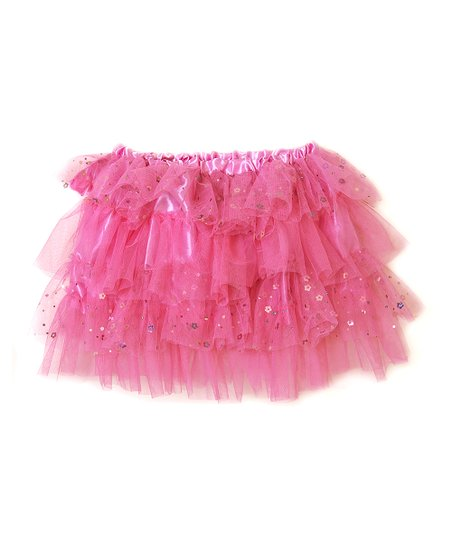 Hot Pink Four-Layer Tutu