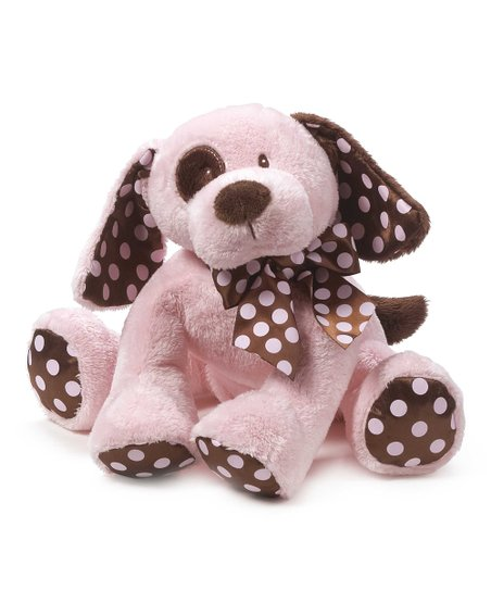 Pink & Brown Chocolate Drops Puppy Plush Toy