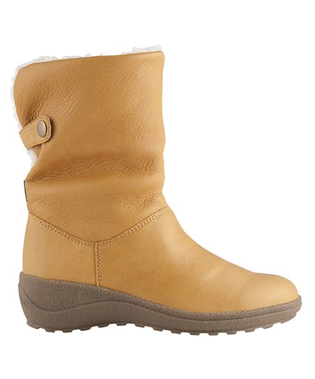 Golden Tan Stanza Wide Boot - Women