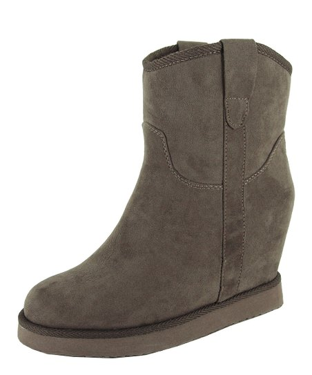 Taupe Wynter Wedge Boot