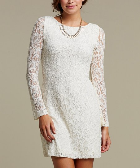 Ivory Lace Tula Dress