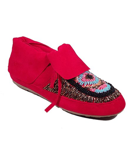 Red Tribe Moccasin