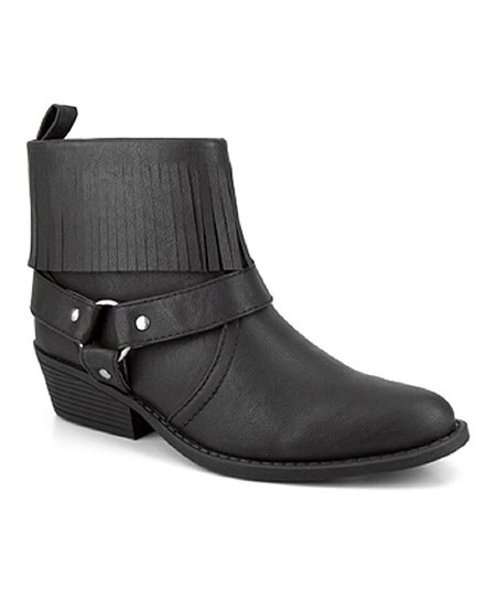Black Wheaton Ankle Boot
