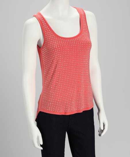 Strawberry Stud Tank - Women