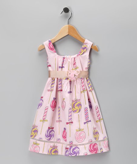 Di Vani Pink Lollipop Dress - Toddler