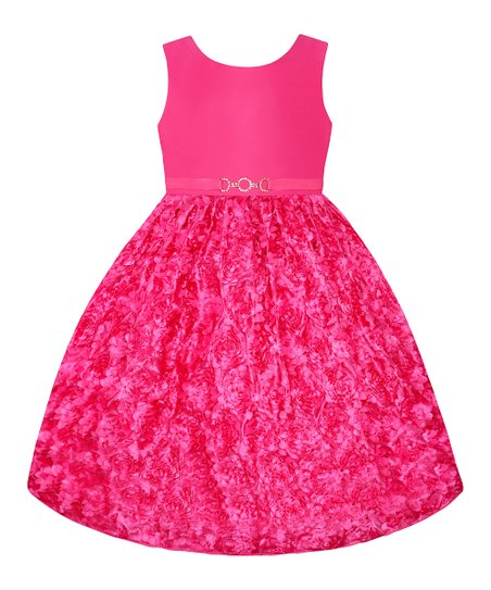 Watermelon Textured  Dress - Toddler & Girls' Plus