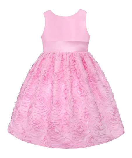 Ice Pink Floral  Dress - Toddler & Girls' Plus