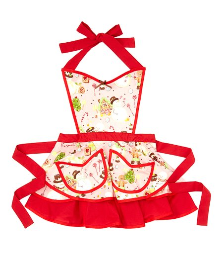 Jolly Gingerbread Betty Apron - Women