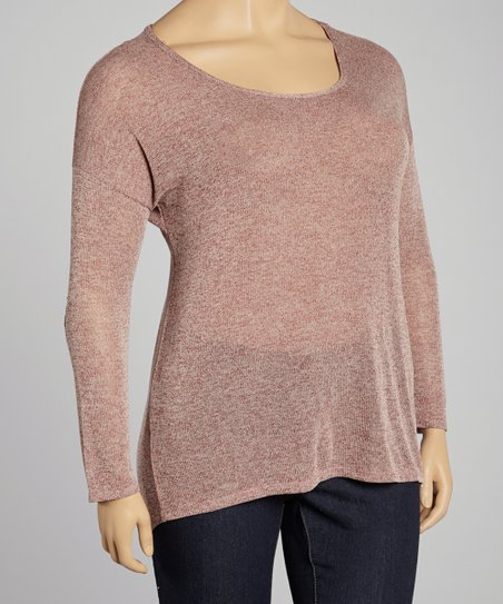 Terra Scoop Neck Top - Plus