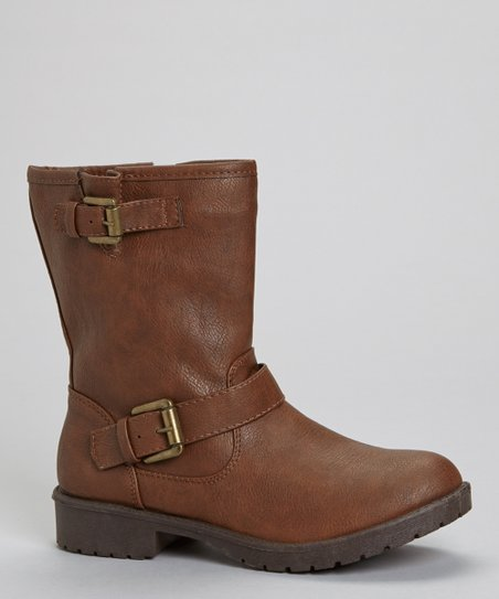 Brown Martina Buckle Boot