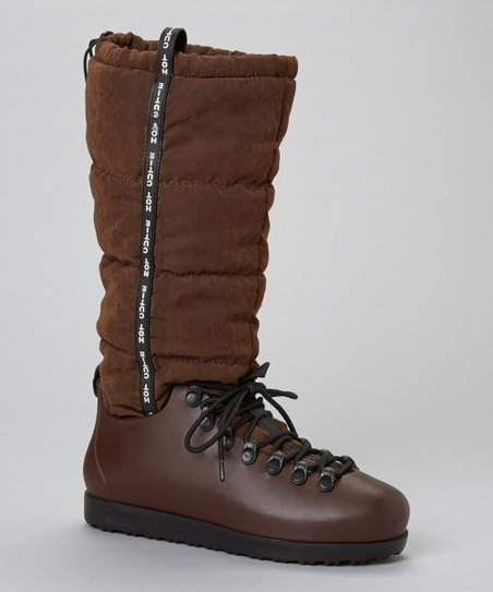 Brown Skyler Flat Boot