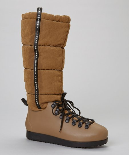 Tan Skyler Flat Boot