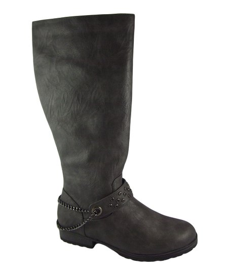 Gray Margie Boot