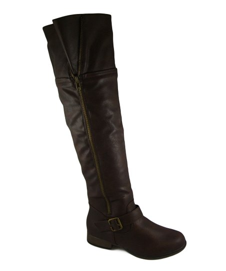Brown Tall Legend Boot