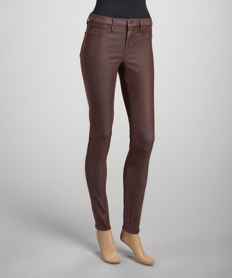 Dark Chocolate Jessica Mid-Rise Tencel Leggings