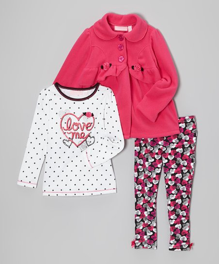 Pink Rose Swing Jacket Set - Infant & Toddler