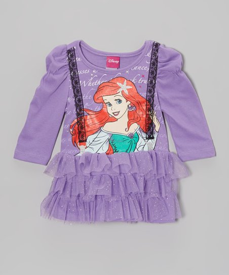 Purple Princess Tutu Dress - Toddler