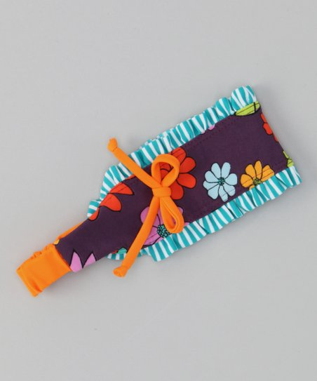 Orange & Purple Paradise Headband