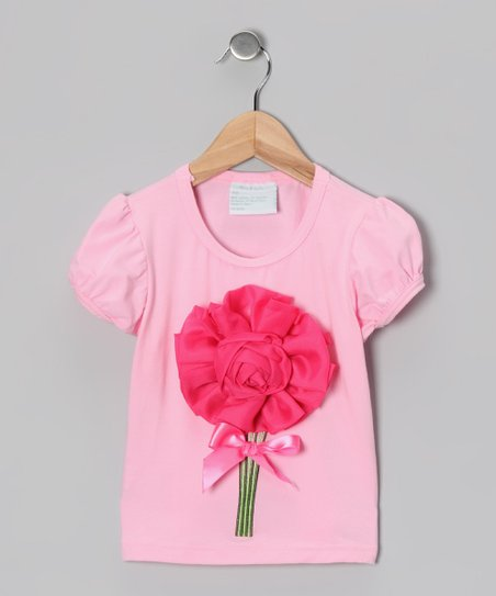 Pink Rosette Tee - Infant, Toddler &amp; Girls