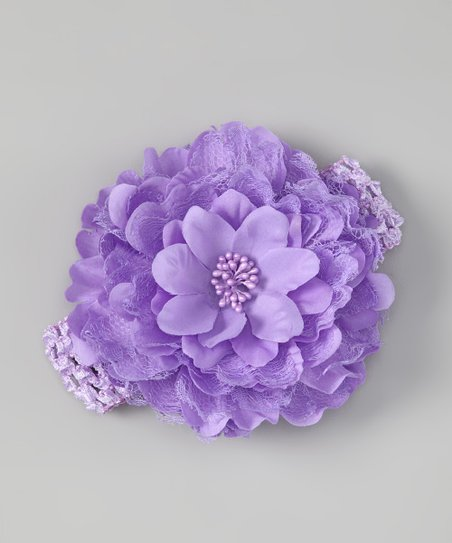 Lavender Petal Layer Headband