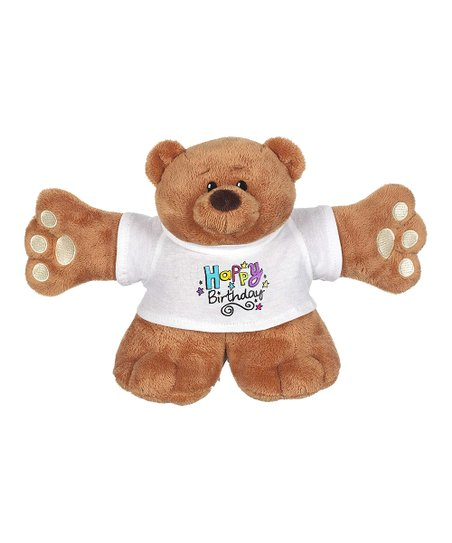 Brown 'Happy Birthday' Bear