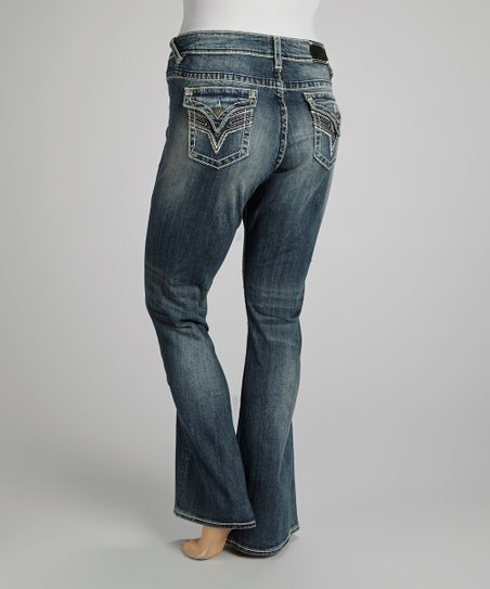 Medium Tint New York Bootcut Jeans - Plus
