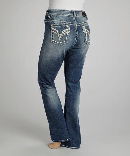 Medium Wash Chelsea Bootcut Jeans - Plus