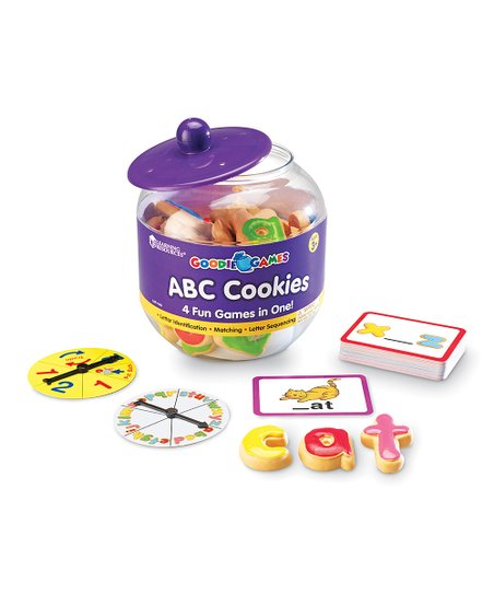 ABC Cookies Goodie Games Set