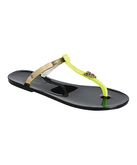 Black Owl Fun Sandal
