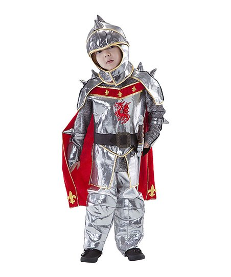 Silver Knight Dress-Up Set – Boys