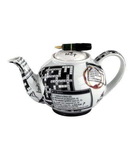 Crossword 18-Oz. Teapot