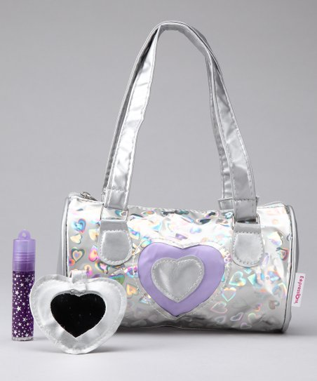 Purple Heart Shoulder Bag Set
