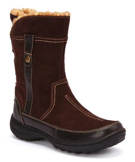 Brown Suede Andes Fortune Q Boot