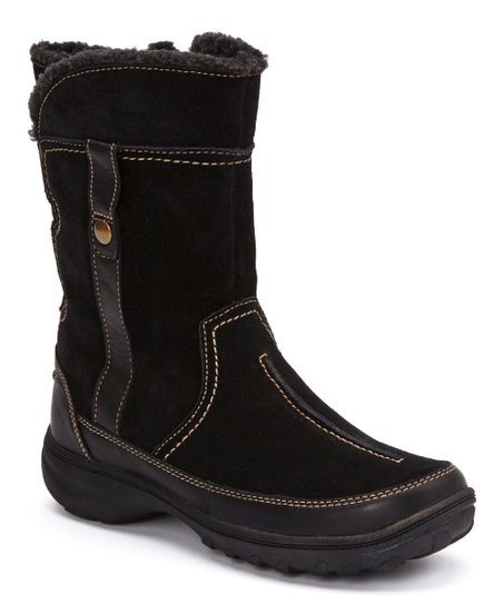 Black Suede Andes Fortune Q Boot